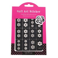 Wholesale Multi Patterns Nail Art Stencil Guide Manicure Template Stickers Stamping CK07 Hot Selling