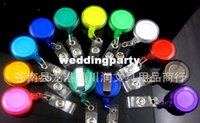 Wholesale 3000pcs Retractable Ski Pass ID Card Badge Holder Key Chain Reels
