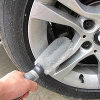automobile air filters - Automobile wheel hub tire brush brush cleaning brush brush brush Senior soft grip tire brush wheel