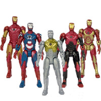 Wholesale Marvel s The Avengers Moveable Action Figures Iron Man Figure Toys cm inch