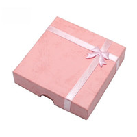 Wholesale 12pcs Jewelry Packaging Mix Colors Bracelet Gift Box For Fashion Jewelry Gift x9x2cm BX17