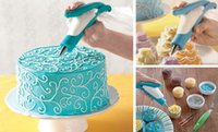 Wholesale NEW Icing Piping Set Nozzles Bag Cake Pastry Cream Cupcake Decoration Tool Craft