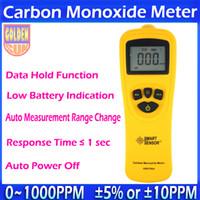 Wholesale High Sensitivity Brand Carbon Monoxide detector Meter tester CO Monitor Gas Detector analyzer for PPM