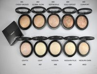 Wholesale DHL shipping HOT NEW Makeup Mineralize Skinfinish Poudre De Finition Face Powder g English name color