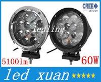 Wholesale led7 quot W CREE LED Work Light Bar LED W Driving Work Light SUV ATV WD x4 Jeep Flood Spot Beam lm IP68