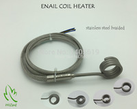 Wholesale ENAIL COIL HEATER STAINLESS STEEL BRAIDED SLEEVE THERMOCOUPLE K With XLR SUPPORT CUSTOM