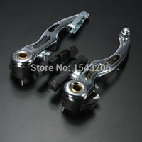 Wholesale Hot Sale Cycling Bike Bicycle MTB Road Aluminium Alloy Front Rear V Brake Linear Set Silver