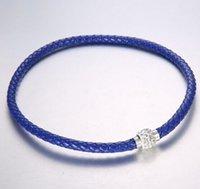 100pc liberan el brazalete magnético de las pulseras del corchete del cristal de la arcilla del pun ¢ o cristalino checo de la armadura de MIC Shambhala 10 colores