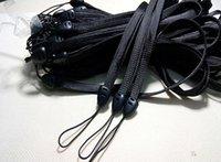 flash mp5 - Free Ship cm Black Heart Buckle wrist hand cell phone mobile Strap Lanyard Charm Cords DIY Lariat MP5 U flash disk Strap