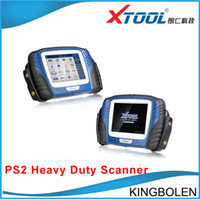 Engine Analyzer heavy duty tools - Professional X tool PS2 Heavy Duty Truck Diagnostic tool Xtool PS2 Diesel Truck scanner