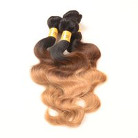 Wholesale Peruvian Body Wave Ombre Hair Bundles Ombre Peruvian Hair Extensions a Grade Peruvian Ombre Weave