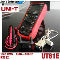 ac values - UNI T UT61E Digital Multimeter auto range true RMS Peak value RS232 REL AC DC amperemeter uni t UT E multimeter