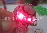 Wholesale Keychain Halloween Party Led Rave Toy Keychain Cheap Favor Bottle Opener Christmas gift B107