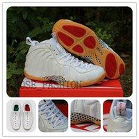 Cheap cheap basketball Shoes Best AIR FOAMPOSITE PRO WHITE GUM