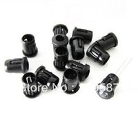 Wholesale mm Black Plastic LED Holders Case Cup Mounting