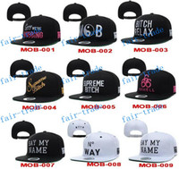 baseball hard hat - 2015 MOB Money Over Bitches Leopard Print Baseball Caps BRAND NEW MENS MOB HUSTLE HARD SNAPBACK hats hat Cheap fashion Adjustable street cap