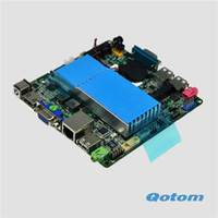 Mini-ITX pc motherboard - Fanless portable linux u motherboard nano itx mainboard cm size itx board industrial pc motherboard Q1037U