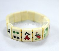 beef chinese - Pulseira Masculina The Quintessence Of Chinese Characteristic Sculpture Mahjong Beef Bones Bracelet With Fashion And