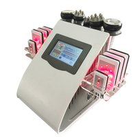 Wholesale 7 in hot sales slimming machine with laser pads and rf function for salon or home use