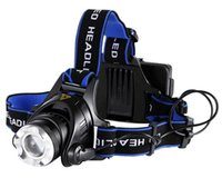Wholesale Headlamp LED Flashlight for Camping Running Hiking Reading Explore Modes LED Headlamps Battery Powered Helmet Light Hands free Camp