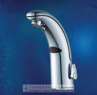 Automatic Sensor ball cock - unique intergrated designing sensor faucet warm water automatic water cocks smart bathroom automatic water dispenser hands free taps