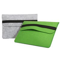 Wholesale Hot Wool Felt Inch Laptop Bags Sleeve Pouch Computer Cover Case Notebook Inner Bag Business Travel Bag Packs