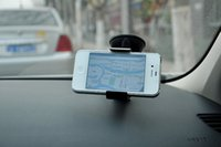 Wholesale Universal Car Air Vent Mount Mobile Phone GPS Holder Degree Rotating for iPhone Plus S Samsung Galaxy S4