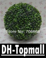 Wholesale 55cm diameter artificial plastic boxwood ball grass ball ANTI UV for indoor outdoor decoration Ashley