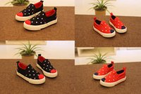 Wholesale 2015 new models five pointed star baby shoes elastic belt canvas fabric sweat kids sports shoes running shoes pair B4