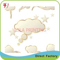 beauty product labels - Customized Hot sale vinyl materials adhesive label bath beauty product labels