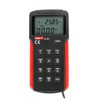 air flow measurement - UNI T UT361 Air Flow Meter LCD Backlight Digital Tachometer Data Hold Anemoscopes w Temperature Measurement Anemometer