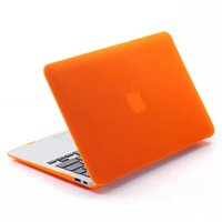 Wholesale Translucent Shell Laptop Case colors protective shell for Macbook Air Pro Retina inch Notebook Sleeve