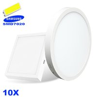 Cheap No surface mounted led panel lights Best 85-265V SMD7020 surface mounted square led panel lights