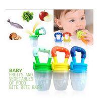 fresh food - Baby Fresh Food Feeder Nipple Pacifier Nibbler Bottle Rattles Feeder Feeding Fresh Fruit Juice Shake chupeta para fruta emzik HJIA151