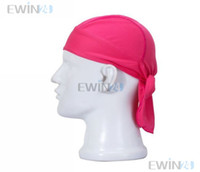 Wholesale New Cycling Bike Bicycle Breathable SweatProof Hat Headband Riding Pirate Cap