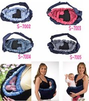 Wholesale DHL Fedex Baby Carrier sling Newborn Baby Wrap Carrier color Baby Carrier Baby slings