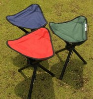 Wholesale Triangle Oxford Folding Chair Outdoor legs Portable Fishing Camping Hiking Picnic chairs