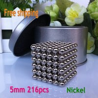 0-12M magnetic balls - neocube mm Magnetic balls buckyballs magnets puzzle at metal tin box nickel color