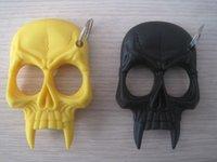 Wholesale 4 pc Skull Shaped Key chain Self Defense Personal Security Men s or Women s self defense