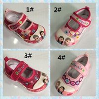 childrens shoes - Hot sales Frozen Girl Shoes Childrens Canvas Shoes Shoes For Girls Child Shoes Casual Princess Shoes Baby Shoes Children Casual Shoes