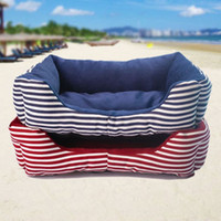 Cheap Wholesale-New 2014 Dog House Soft Pet Beds Free Shipping Dog Products Pet Dog House Cats Beds Brand Pet House Beds HP154
