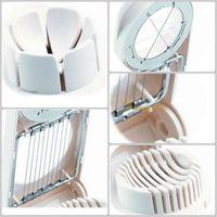 Wholesale 2015 in1 Kitchen Egg Tools Egg Slicer Sectioner Cutter Mold Flower Edges Multifunction