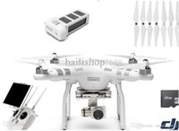 Wholesale Newest DJI Phantom Advanced FPV airplane Drone with P HD Battery inside remote control EMS DHL shipping