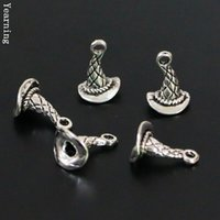 vintage hat lot - Jewelry Findings Vintage Silver Alloy DIY D Witch Hat Charms Pendants fit Necklace Bracelet MM
