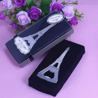 beer party favors - 2016 Wedding Souvenirs Paris Eiffel Tower Desing Beer Bottle Opener Event party Favors Gifts