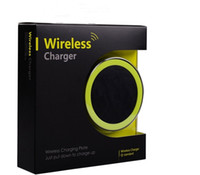 Wireless Charger iphone charger - 2015 S6 Qi Wireless Charger Cell phone Mini Charge Pad For Qi abled device Samsung nokia htc LG cellphone with retail package DHL free