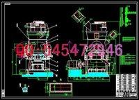 Wholesale HRM1200 vertical mill drawings Full Machining drawings