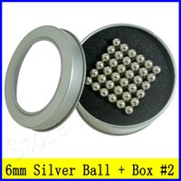 neo magnet - New mm Nickel Silver BuckyBall DIY Toys Cube Neodymium Magnet Sphere Puzzle N35 Neo cube Funny Magnetic Balls