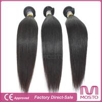 human braiding hair - 100 Natrual Hair Peruvian Brazilian Hair Weaves Straight Hair Weaves Braiding Hair Extensions Remy Human Hair Weave MOSTO HAIR