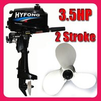 Wholesale US Local Shipping NEW STROKE HP OUTBOARD BOAT MOTOR TOP SALE WATER COOLED